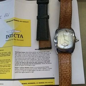 Invicta Lady Lupah Watch model 2324 2 bands
